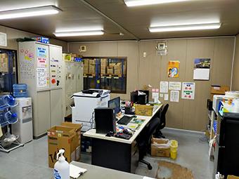 淡路マテリア 九州LC 事務所内写真