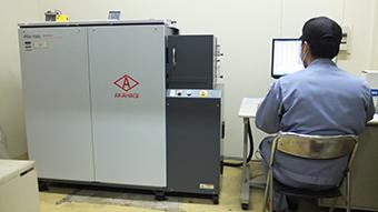 発光分析装置 カットバック