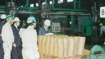 赤萩フランジ 伊賀工場 日本工業規格取得時の写真2