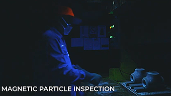 磁力探傷試験設備